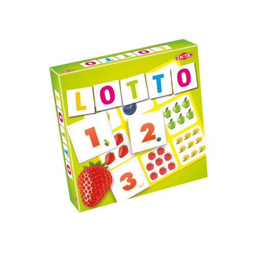 Tactic Lotto Hedelmät & numerot