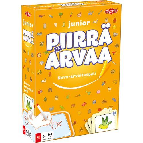 JUNIOR PIIRRÄ JA ARVAA