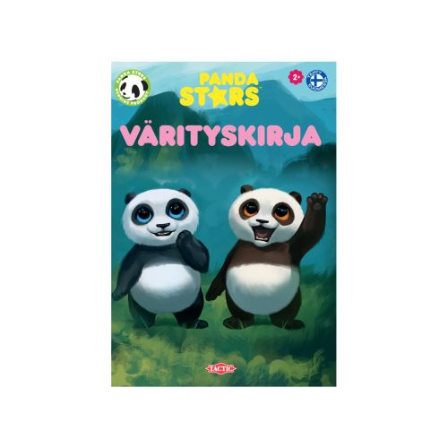 Tactic Panda Stars värityskirja