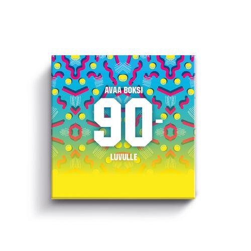 VUOSIKYMMENPELI: 90-LUKU