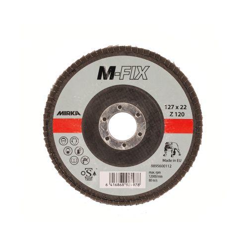 MIRKA LAMELLILAIKKA K120 127X22MM