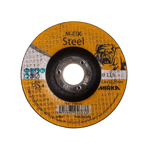 MIRKA HIOMALAIKKA METALLI / RST 115X6,4X22,2MM