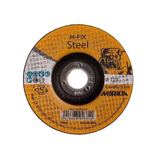 MIRKA HIOMALAIKKA METALLI / RST 125X6,4X22,2MM