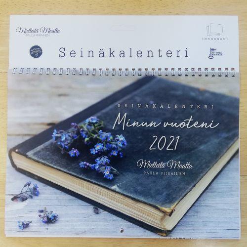 SEINÄKALENTERI A4 MIETTEITÄ MAALTA 2021