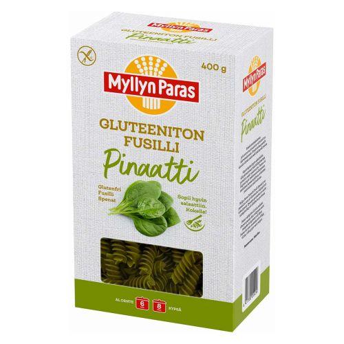 MYLLYN PARAS FUSILLI PINAATTI GLUTEENITON 400 G