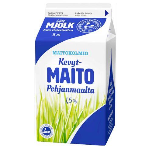 MAITOKOLMIO KEVYTMAITO 500 ML