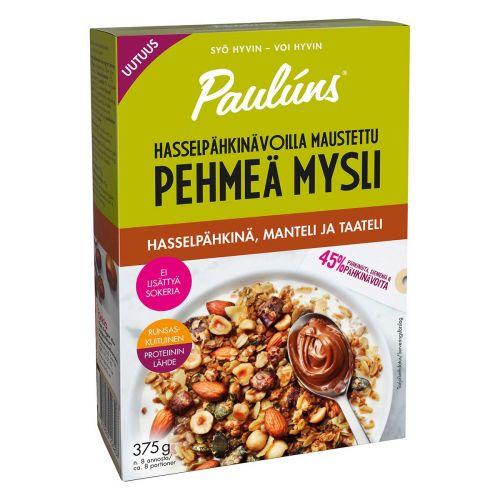 PAULÚNS HASSELPÄHKINÄ-MANTELI-TAATELI PEHME