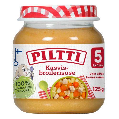 PILTTI KASVIS-BROILERISOSE 5KK 125 G