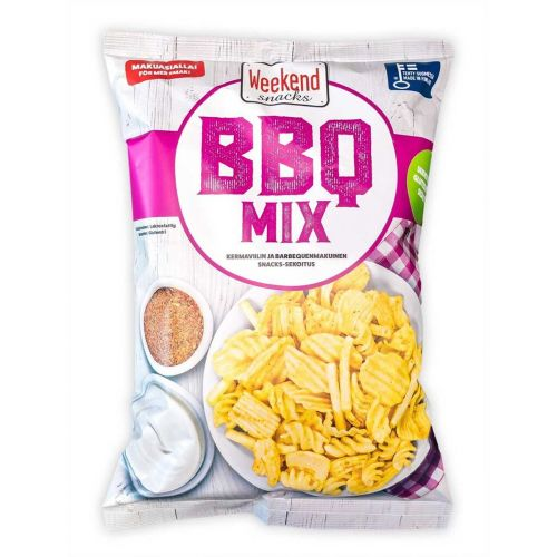 WEEKEND SNACKS BBQ MIX  180 G