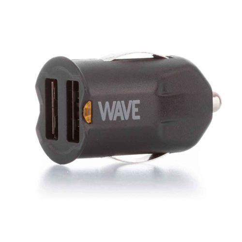 WAVE AUTOLATURI, 2 X USB + MICROUSB KAAPELI (10,5W)