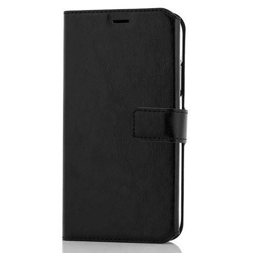 WAVE MULTIPOCKET BOOK CASE, APPLE IPHONE 11, MUSTA