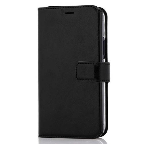 WAVE MULTIPOCKET BOOK CASE, APPLE IPHONE 11 PRO, MUSTA
