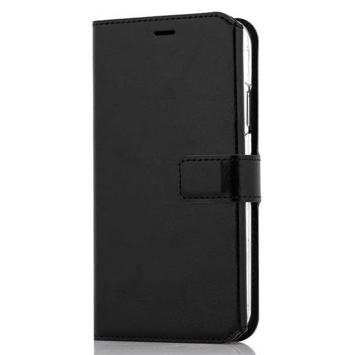 WAVE MULTIPOCKET BOOK CASE, APPLE IPHONE XR, MUSTA