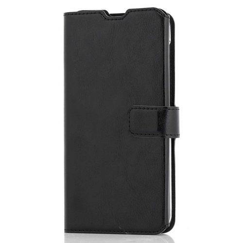 WAVE MULTIPOCKET BOOK CASE, SAMSUNG GALAXY A10, MUSTA