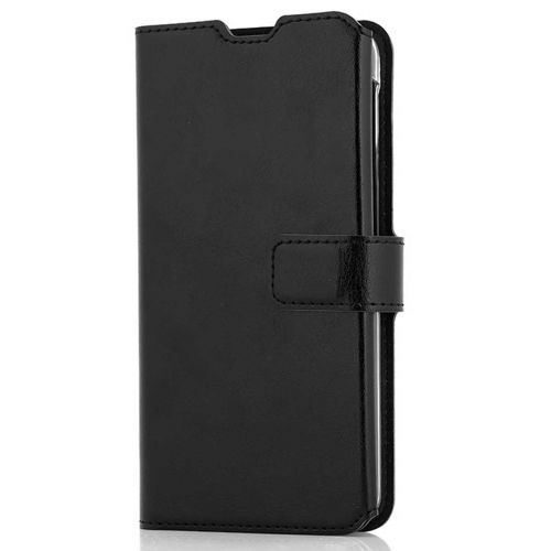 WAVE MULTIPOCKET BOOK CASE, SAMSUNG GALAXY A20E, MUSTA