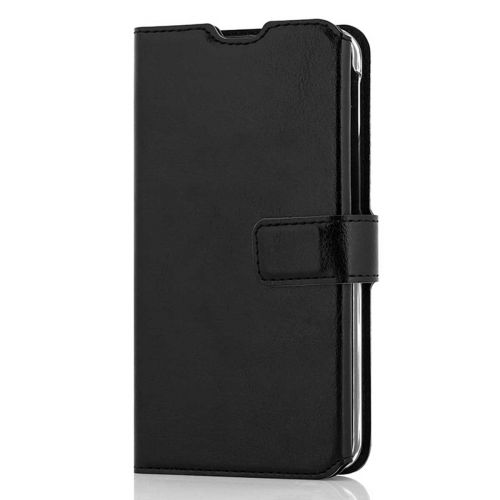 WAVE MULTIPOCKET BOOK CASE, SAMSUNG GALAXY A40, MUSTA
