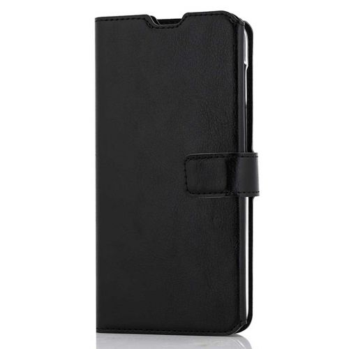 WAVE MULTIPOCKET BOOK CASE, SAMSUNG GALAXY A50, MUSTA