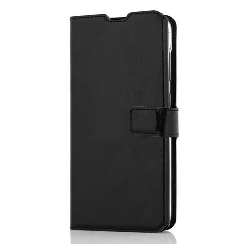 WAVE MULTIPOCKET BOOK CASE, SAMSUNG GALAXY A70, MUSTA