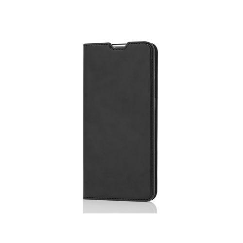 WAVE BOOK CASE, ONEPLUS NORD N10 5G, MUSTA