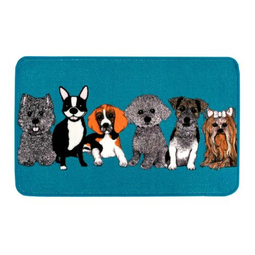 VALLILA MATTO DOGGIES 50X80CM PETROOLI