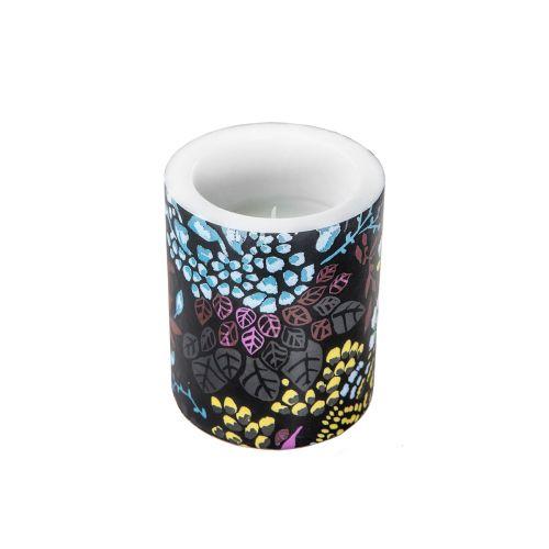 Vallila kynttilä Kutikula 8cm musta