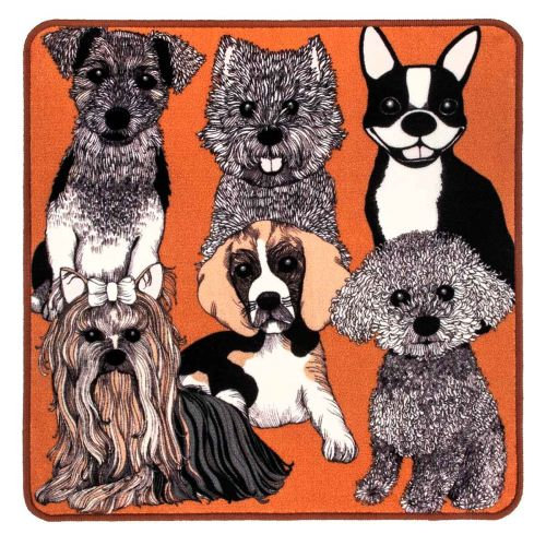 VALLILA MATTO DOGGIES 80X80CM KONJAKKI