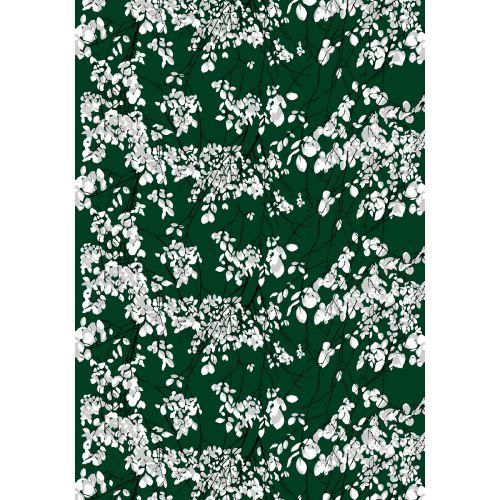 VALLILA VALMISVERHO LEHTISADE GREEN 140X240 CM