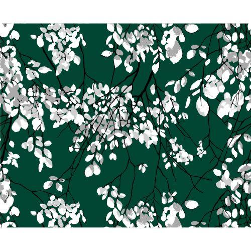 VALLILA VERHOKAPPA LEHTISADE GREEN 60X250 CM