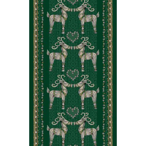 VALLILA VALMISVERHO OLKIPUKKI GREEN 140X240 CM