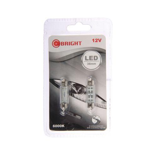 C-BRIGHT LED-POLTTIMOPARI 12V SV8,5-8 VALK. (12854, 10W)