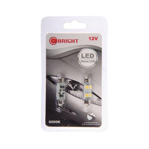 C-BRIGHT LED-POLTTIMOPARI 12V SV8,5-8 VALK.