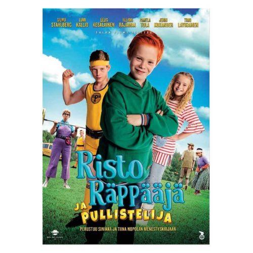 DVD RISTO RÄPPÄÄJÄ PULLISTELIJA