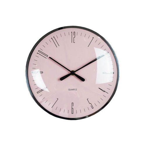 AmandaB kello ø25cm metallikehyksellä