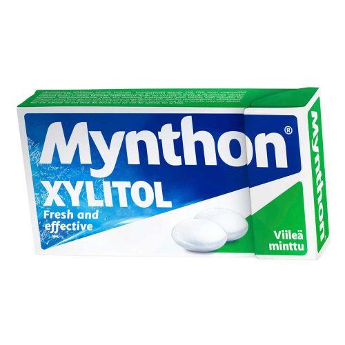 MYNTHON XYLITOL VIILEÄ MINTTU 31 G