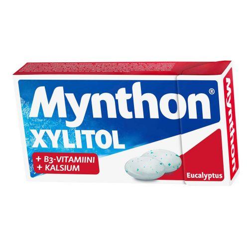MYNTHON XYLITOL EUCALYPTUS +B VITAMIINI, KALCIUM 31 G