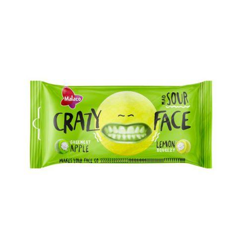 Crazy Face Sour Kirpeä Omena&Sitruuna 60g