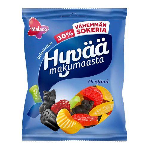 MALACO HYVÄÄ MAKUMAASTA 30% VÄHEMMÄN SOKERIA 160 G
