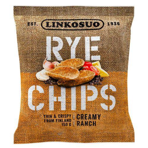 LINKOSUO RYE CHIPS CREAMY RANCH 150 G