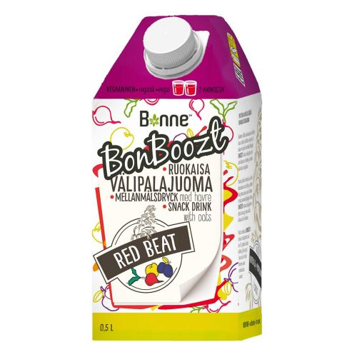 BONNE BONBOOZT SMOOTHIE RED BEAT 500 ML