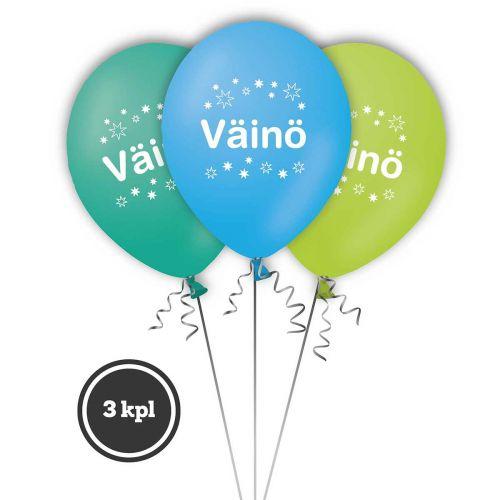 NIMI-ILMAPALLO VÄINÖ 3 KPL