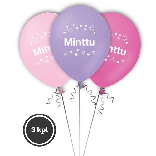 NIMI-ILMAPALLO MINTTU 3 KPL