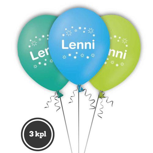 NIMI-ILMAPALLO LENNI 3 KPL