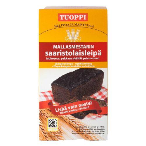 TUOPPI MALLASMESTARIN SAARISTOLAISLEIPÄ-JAUHOSEOS 420 G