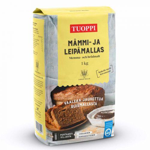 TUOPPI MÄMMI- JA LEIPÄMALLAS 1KG