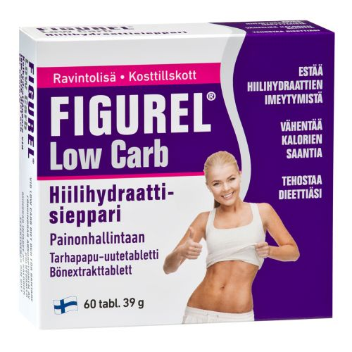 FIGUREL LOW CARB TARHAPAPU-UUTE  60 KPL