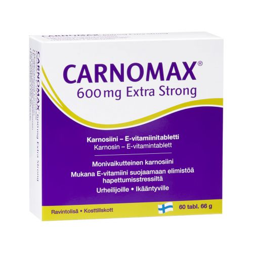 CARNOMAX 600MG EXTRA STRONG  60 KPL