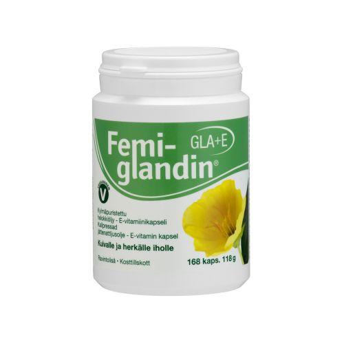 FEMIGLANDIN GLA+E-VITAMIINI 168 KPL