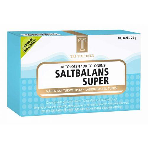 SALTBALANS SUPER TABLETTI 100 KPL