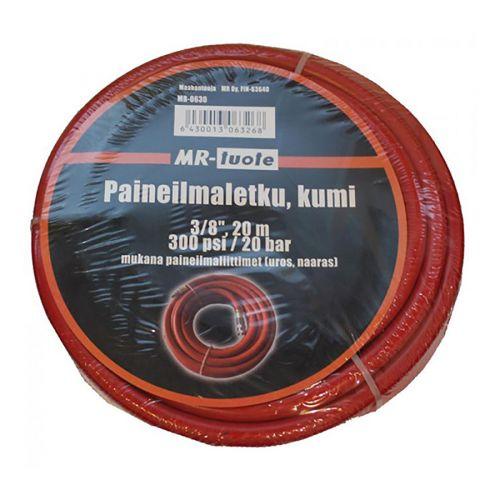 """MR-TUOTE PAINEILMALETKU KUMI 3/8"""" 20M"""