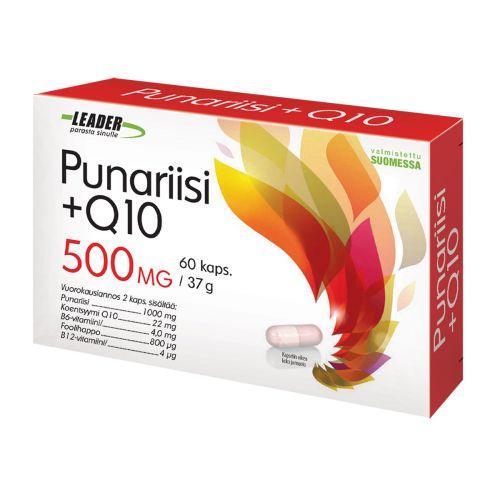 LEADER PUNARIISI + Q10 60 KPL